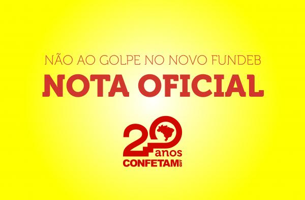 Imagem de Nota Oficial: Todos e todas contra o golpe de Bolsonaro na PEC do Novo Fundeb