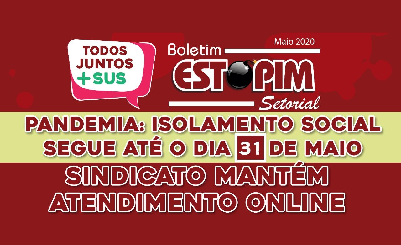 Imagem de Quarentena até 31 de maio: Atendimento online do Sindicato continua