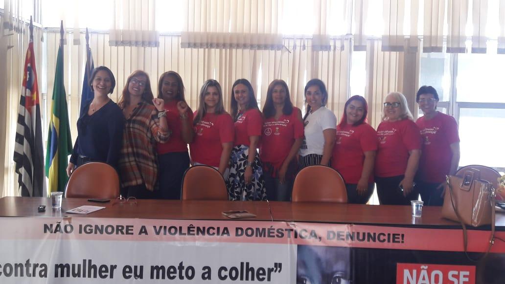 Imagem de #MêsDaMulher: Sindserv Santo André participa de atividade do Conselho Municipal de Direitos das Mulheres