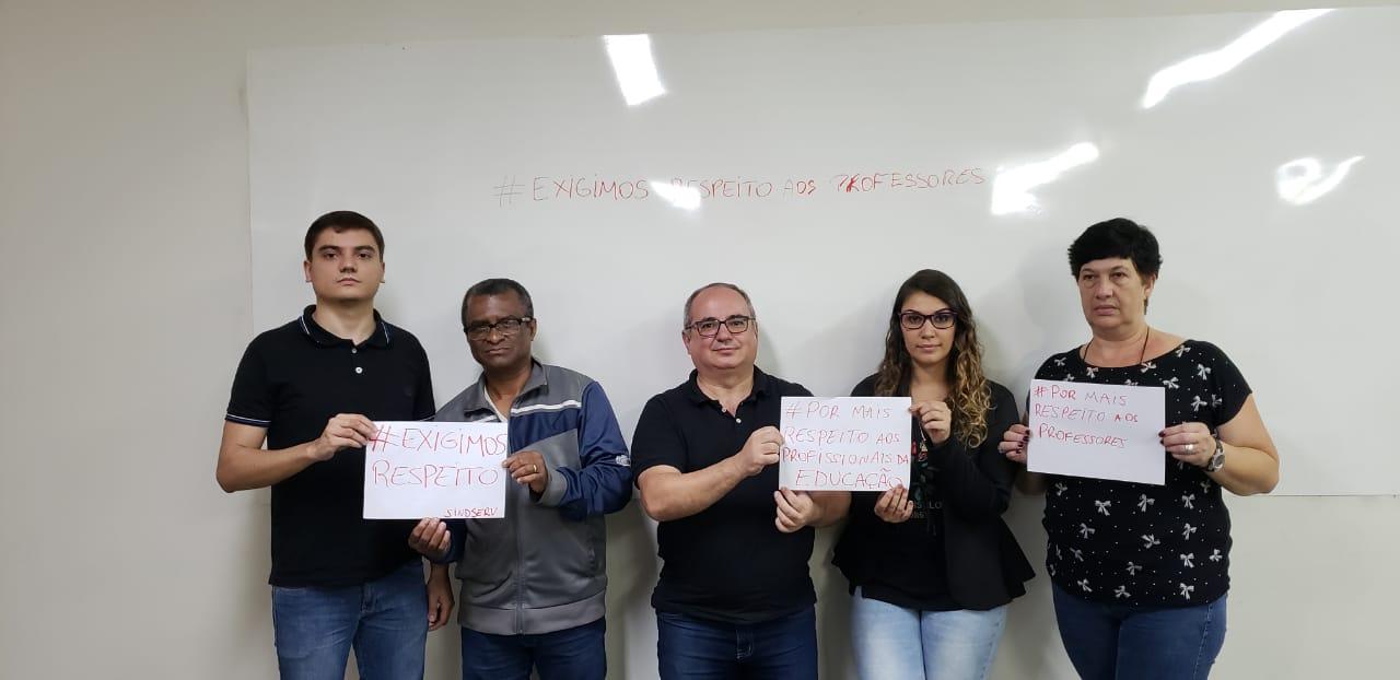 Imagem de #ExigimosRespeito  Sindserv Santo André se solidariza com professora vítima de agressões violentas em grupo no Facebook
