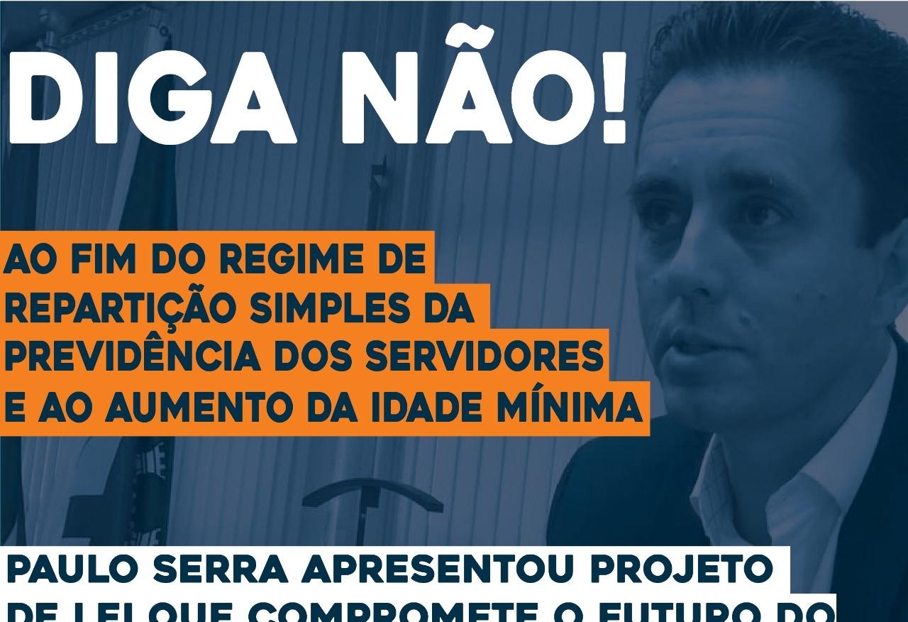 Imagem de Sindicato pede à Câmara suspensão do PL de Paulo Serra que altera regras do Regime Próprio de Previdência Social dos Servidores