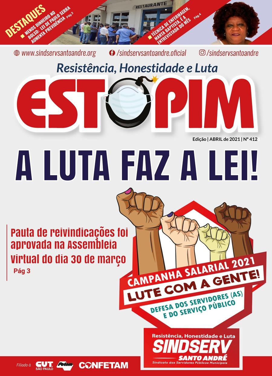 Imagem de Está no ar Edição do Estopim Abril!