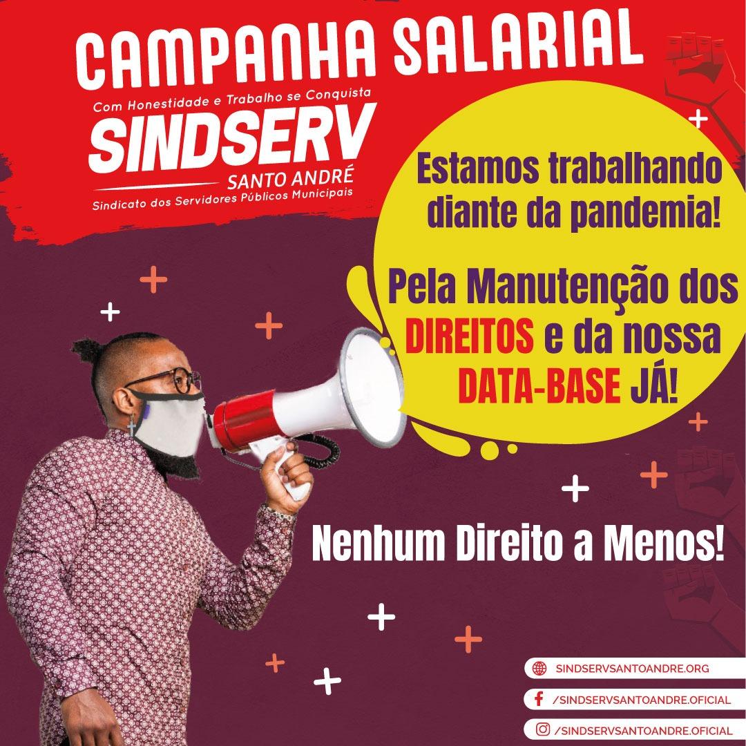 Imagem de Sindserv Santo André exige da Administração resposta sobre Pauta da Data-base 1º de maio