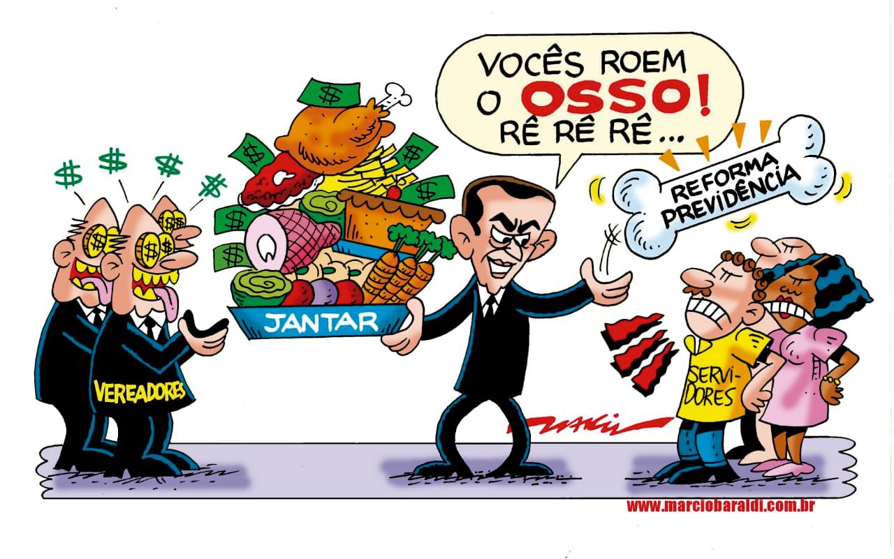 Imagem de Estopim Especial: Regras da Reforma da Previdência de Paulo Serra dificultam nossa aposentadoria