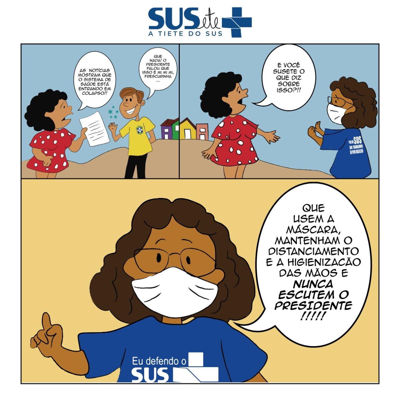 Imagem de Editorial do Estopim aborda cenário grave da pandemia e importância da vacinação