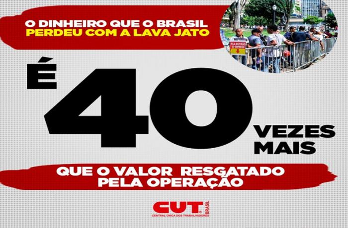 Imagem de País perdeu em investimentos 40 vezes o valor recuperado pela Lava Jato