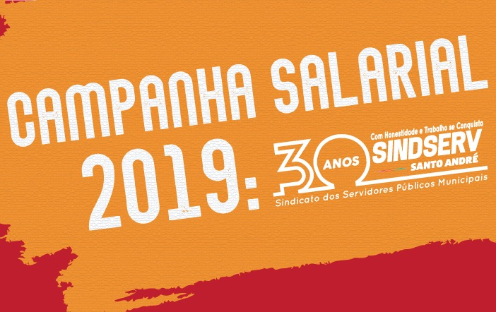 Imagem de Campanha Salarial 2019: Sindserv Santo André realiza Assembleia Geral nesta quarta-feira (14)